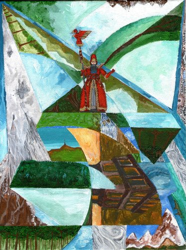 """Luca Lo Basso """"É il Multiverso, bellezza..."""" mago che padroneggia i segreti del viaggio planare - by Luca Lo Basso (lucalob) lucalob.deviantart.com (2018-04) © dell'autore tutti i diritti riservati"""