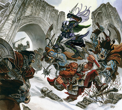 orc drow Drow e orchi - by Steve Ellis Neverwinter Campaign Setting (2011-08) © Wizards of the Coast & Hasbro