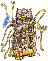 """clone-artist """"Nonaton"""" - by clone-artist (Filip) clone-artist.deviantart.com (2008) © dell'autore tutti i diritti riservati"""