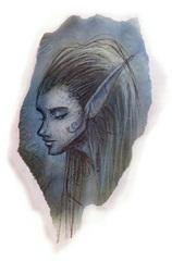 {$tags} Eladrin noviere - by Tony Diterlizzi TSR Planescape Monstrous Compendium Appendix II (1995-09) © Wizards of the Coast & Hasbro