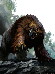 {$tags} Orso Gufo - by Stephen Crowe Monster Manual (2008-06) © Wizards of the Coast & Hasbro