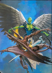 aasimon Planetar e cornugon - by Kev Walker Dragon Magazine #287 (2001-09) © Wizards of the Coast & Hasbro