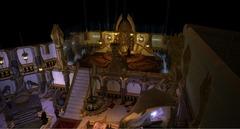 """nwn2 the fortune's wheel sigil Il locale """"La Ruota della Fortuna"""" nel quartiere della Signora a Sigil - nwn2planescape.com NWN2 planescape portal - Sigil, City of Doors (2008) © Atari"""