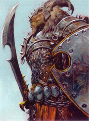 {$tags} Un Ramadeen - by Adrian Smith Miniatures Handbook (2003) © Wizards of the Coast & Hasbro