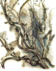 razorvine patch Rasorvite di Sigil - by Tony Diterlizzi TSR - Uncaged, Faces of Sigil (1996-03) © Wizards of the Coast & Hasbro