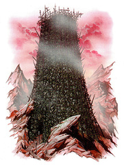 {$tags} La Fortezza dell'Indifferenza - by Wayne Reynolds Manuale dei Piani (2005) © 25 Edition, Wizards of the Coast & Hasbro