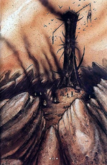 fortress of indifference La Fortezza dell'Indifferenza sotto assedio - by Tony Diterlizzi TSR - Hellbound, the Blood War (1996-06) © Wizards of the Coast & Hasbro
