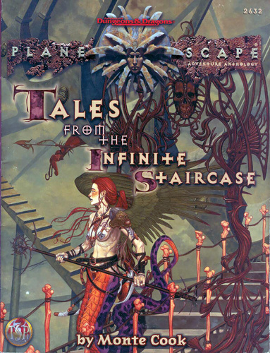 lillend La Scalinata Infinita e le Lillendi - by Randy K Post TSR - Tales from the Infinite Staircase (1998) © Wizards of the Coast & Hasbro