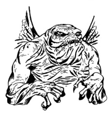 {$tags} Gehreleth Shator - by Jim Holloway TSR AD&D 1st ed. Monster Manual II (1982) © Wizards of the Coast & Hasbro