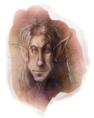 {$tags} Eladrin shiere - by Tony Diterlizzi TSR Planescape Monstrous Compendium Appendix II (1995-09) © Wizards of the Coast & Hasbro