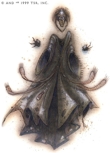 {$tags} Skall, o meglio la sua //Proiezione Planare// - by Tony Diterlizzi TSR - The Factol's Manifesto (1995-06) © Wizards of the Coast & Hasbro