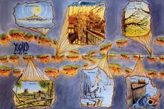 ysgard scheme hires Rappresentazione del piano di Ysgard - by Rob Lazzaretti TSR - Planes of Conflict (1995) © Wizards of the Coast & Hasbro