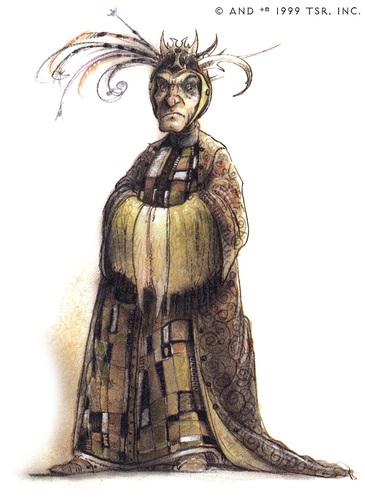 {$tags} Factol Terrance - by Tony Diterlizzi TSR - Planescape Campaign Setting: A Player's Guide to the Planes (1994-04) © Wizards of the Coast & Hasbro