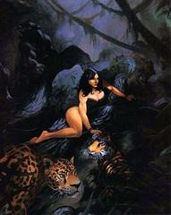 cat lord beastlands Signora dei Felini nelle Terre Bestiali - by Alan Pollack TSR - Something Wild (1996-02) © Wizards of the Coast & Hasbro
