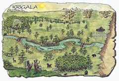 beastlands Una parte di Krigala - by Roy Boholst TSR - Something Wild (1996-02) © Wizards of the Coast & Hasbro