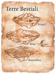 scheme Schema delle Terre Bestiali TSR - Manuale dei Piani (2005) © Wizards of the Coast, 25 Edition & Hasbro