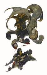 {$tags} Un Terrore Urlante in battaglia - by Rafael Garres Cervantes Monster Manual III (2004-09) © Wizards of the Coast & Hasbro