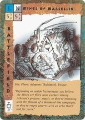"thuldanin ""Mines of Marsellin"" - by Tony Diterlizzi TSR - ""Blood Wars"" card game Base Pack (1995) © Wizards of the Coast & Hasbro"
