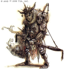 {$tags} Factol Lhar della Trista Cabala - by Tony Diterlizzi TSR - Planescape Campaign Setting: A Player's Guide to the Planes (1994-04) © Wizards of the Coast & Hasbro