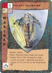 "eladrin ""Tulani Champion"" - by Rob Lazzaretti TSR - ""Blood Wars"" card game Base Pack (1995) © Wizards of the Coast & Hasbro"