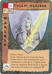 "eladrin ""Tulani Warlord"" - by Rob Lazzaretti TSR - ""Blood Wars"" card game Base Pack (1995) © Wizards of the Coast & Hasbro"