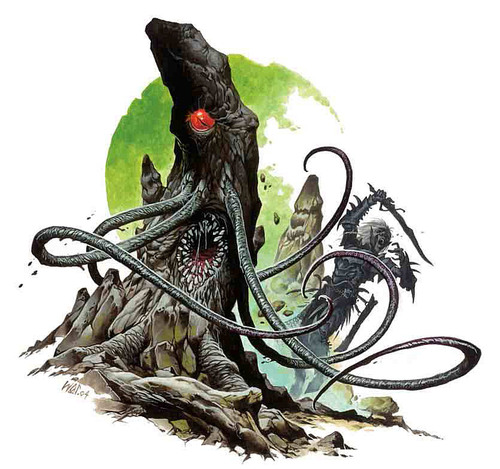 illithid Urophion - by Wayne Reynolds Lords of Madness: The Book of Aberrations (2005-04) © Wizards of the Coast & Hasbro