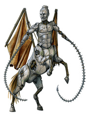 {$tags} Zelekhut - by Florian Stitz Pathfinder Roleplayng Game Bestiary 2 (2010) © Paizo Publishing, Wizards of the Coast & Hasbro